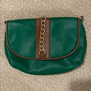 Green Clutch Purse